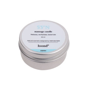 loond53°N massage candle DERM