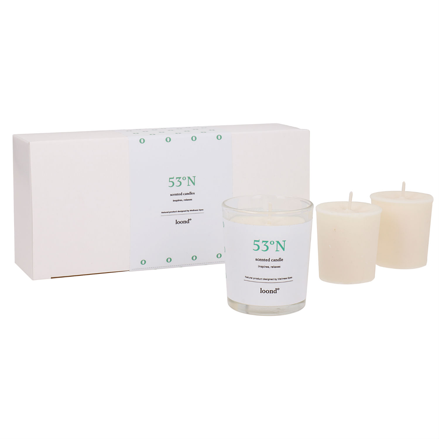 loond53°N scented candles