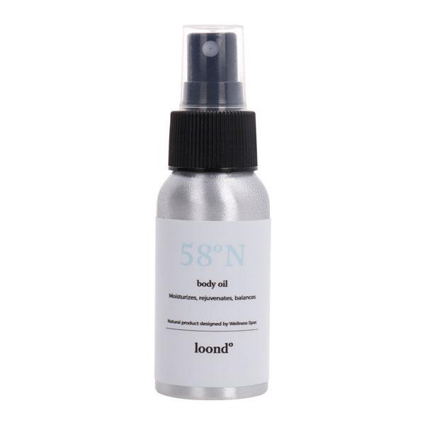 loond58°N body oil DERM